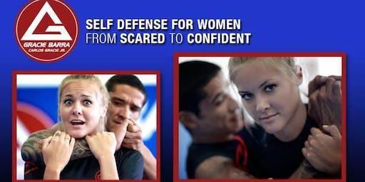 Free Women's Self-Defense Classes at Gracie Barra Saddle Rock Jiu-Jitsu