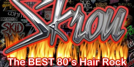 Skrou. The Best 80's Hair Rock Cover Band tickets