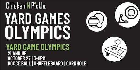 Yard Game Olympics - 21+ tickets
