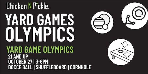 Yard Game Olympics - 21+