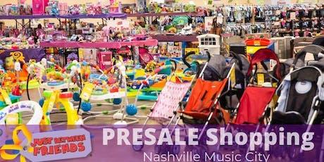 PRESALE SHOPPING| Fall 2019 - Nashville Music City JBF tickets