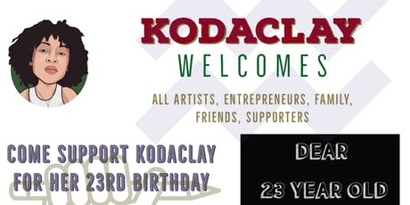 KODACLAY'S BIRTHDAY EVENT tickets