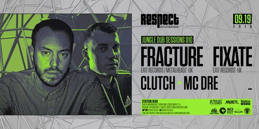 JUNGLE DUB SESSIONS 010 feat. FRACTURE + FIXATE