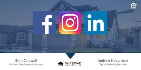 Realtor® Social Media Marketing Trends / Lunch & Learn tickets