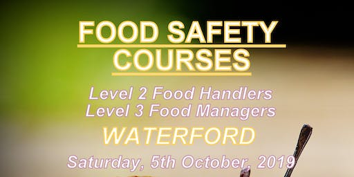 Food Safety Course Level 2 Food Handlers