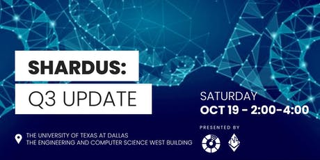 Blockchain DLT - Shardus 2019 Q3 Meetup tickets