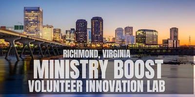 Richmond Ministry Network Lunch: Volunteer Innovation Lab