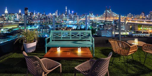 "9/29: SUMMER-END SUNSET SOIRÉE"" at SAVANNA ROOFTOP w/$7 Cocktails & FROSÉ Specials"