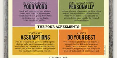 Self Care Book Club - The Four Agreements - FREE