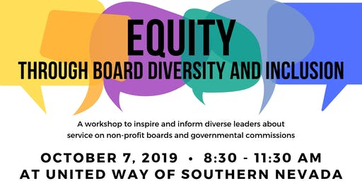 Equity Through Board Diversity & Inclusion