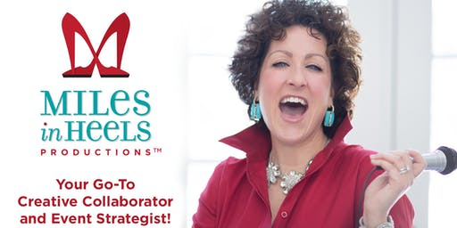 Miles in Heels' first-ever SHOES-A-PALOOZA! Gather, Gab, and Give!™