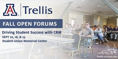 Fall Open Forum: Driving Student Success with Trellis CRM (Sept 16)