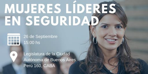 """Jornada """"Mujeres Líderes en Seguridad"""""""