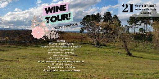 WINE TOUR- Edición Primavera