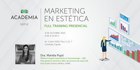 Curso Marketing en Estética entradas