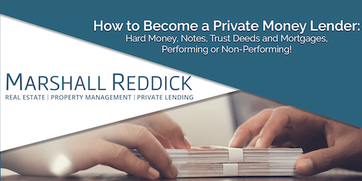 How to Become a Private Money Lender