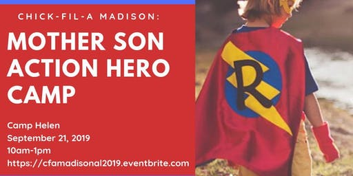 Mother Son Action Hero Camp