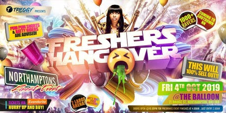 Freshers Hangover tickets
