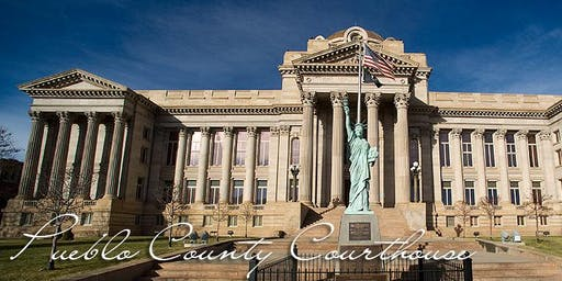 Rotary 43 Field Trip to the Pueblo County Courthouse