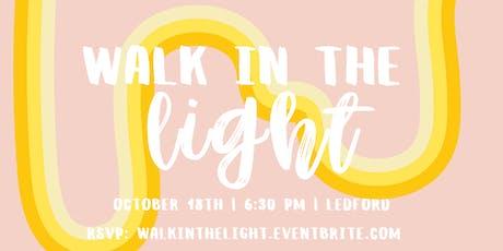 Walk in the Light Women's Dinner tickets