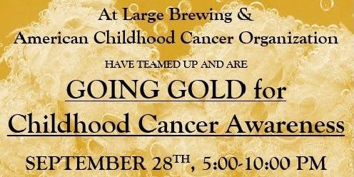 Going Gold for Childhood Cancer Awareness