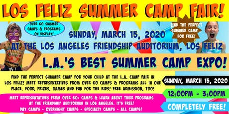 Los Feliz Los Angeles Summer Camp Fair tickets