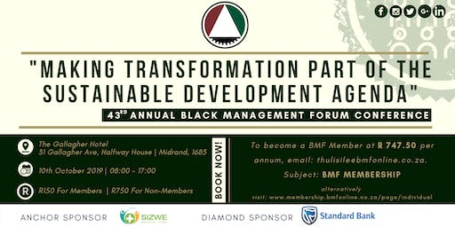 ANNUAL BMF CONFERENCE
