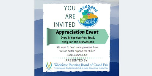 Skilled Trades Appreciation Event - Haldimand County