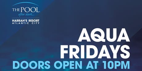 DJ Shift at The Pool After Dark - Aqua Fridays FREE Guestlist tickets