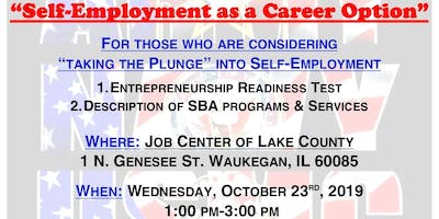 Self-Employment as a Career Option with the SBA (Lake County)