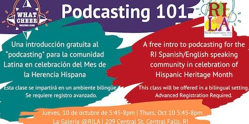 Podcasting 101 @ Rhode Island Latino Arts