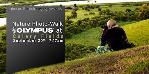 Photo Walk at Celery Fields with Olympus