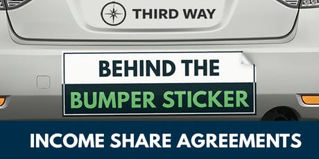 Behind the Bumper Sticker: Income Share Agreements tickets