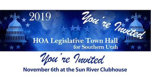 2019 HOA Legislative Town Hall Dinner for Southern Utah