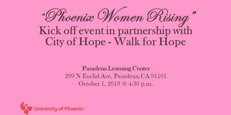 University of Phoenix and City of Hope - Kick Off Event  tickets