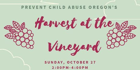 Harvest at the Vineyard tickets