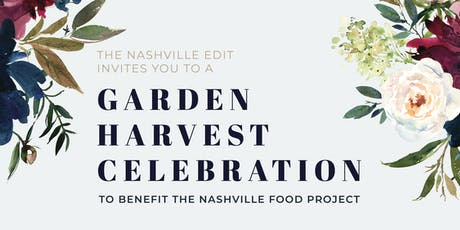 Garden Harvest Celebration tickets