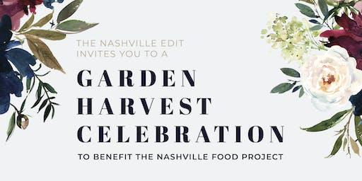 Garden Harvest Celebration