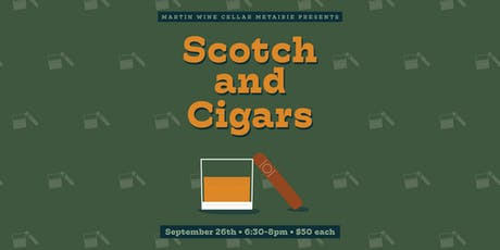 Scotch and Cigars tickets