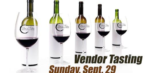 Wine Vendor Tasting at Pour d' Vino Italian Chophouse & Wine Bar