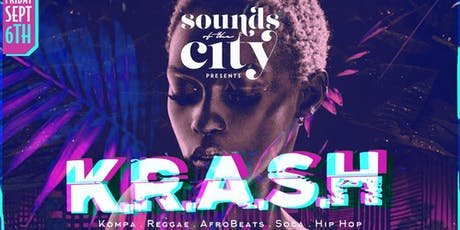 K.R.A.S.H FRIDAYS | Sounds of the City | Free b4 12 tickets