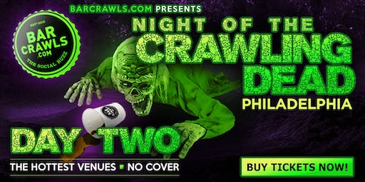 Barcrawls.com Presents The Philly Halloween Day Bar Crawl Day 2