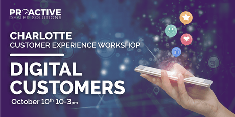 Digital Customers - Charlotte Customer Experience Workshop tickets