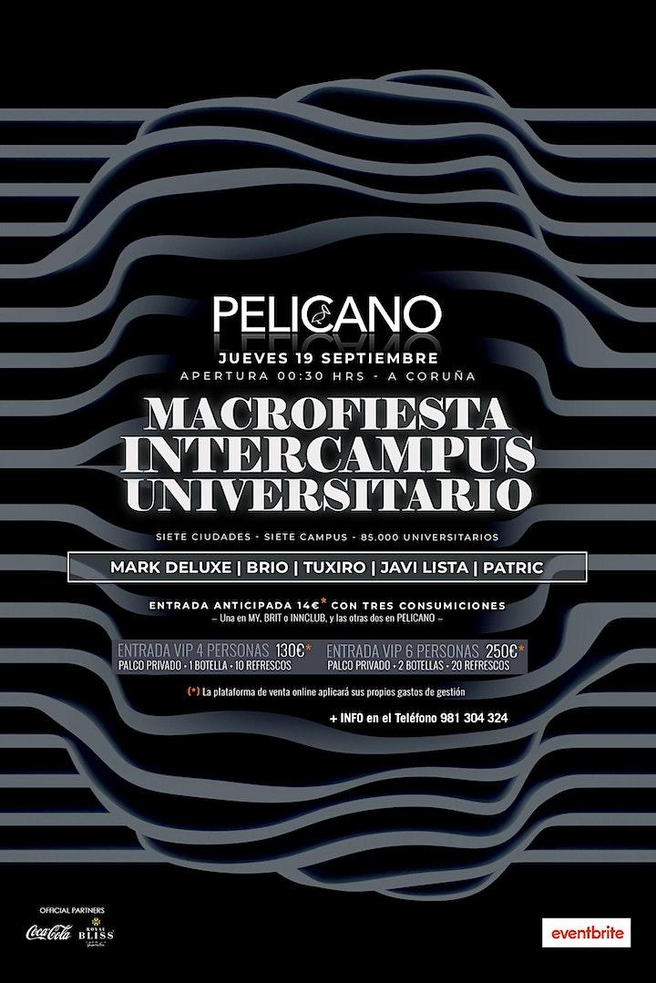 Imagen de Macrofiesta Intercampus Universitario | A Coruña