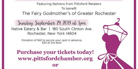 Pittsford Chamber of Commerce Fashion Show Benefiting Fairy Godmother's of Rochester tickets