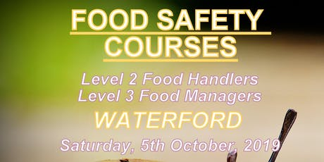 Food Safety Course FSAI Level 3 for Managers tickets