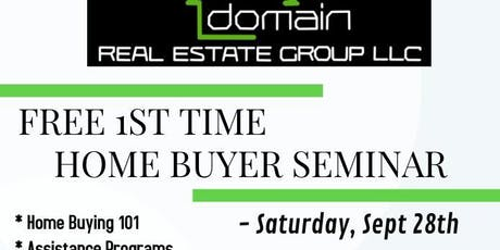 1st Time Home Buyer Seminar tickets