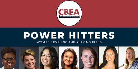 Power Hitters: Women Leveling the Playing Field tickets