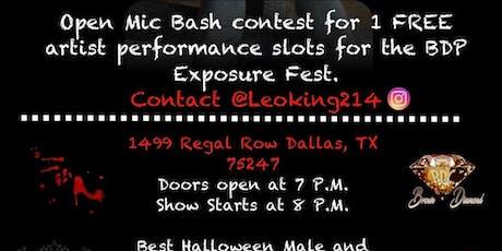 "RILL Ent  OPEN MIC BASH ""Halloween"" tickets"