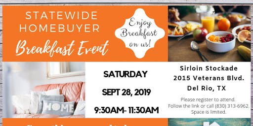 STATEWIDE HOME BUYER EVENT